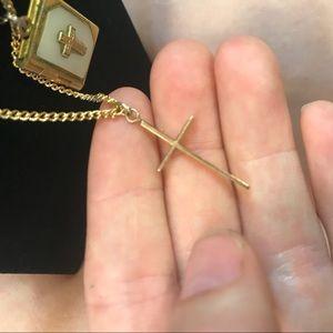 Vintage Jewelry - U PICK! 10k Gold Cross OR MOP Bible Locket